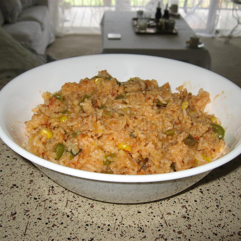 Spicy Spanish-Style Rice