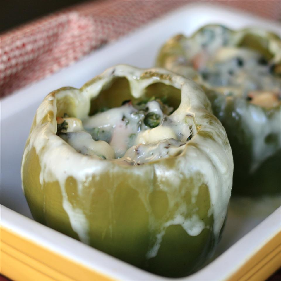 Chicken-Stuffed Peppers France C