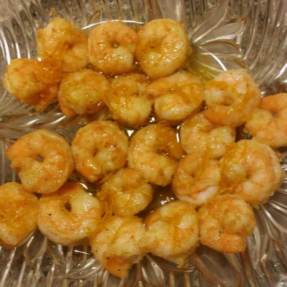Honey Orange Firecracker Shrimp Rick Quiroz
