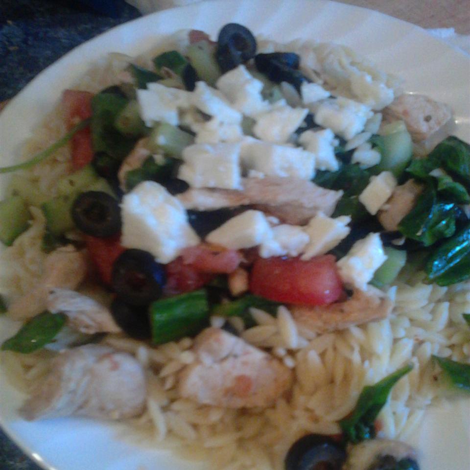 Hot Greek Salad Cheerios