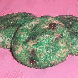 Chocolate Mint Sugar Cookie Drops karataronno