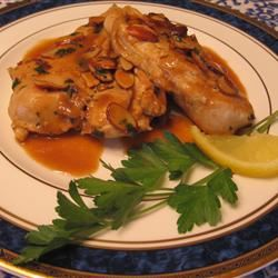 Almond Lemon Chicken Joy Bowers