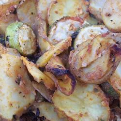 Zucchini and Potato Bake pomplemousse