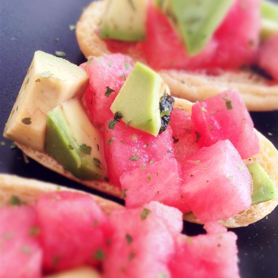 Watermelon Avocado Salsa Buckwheat Queen