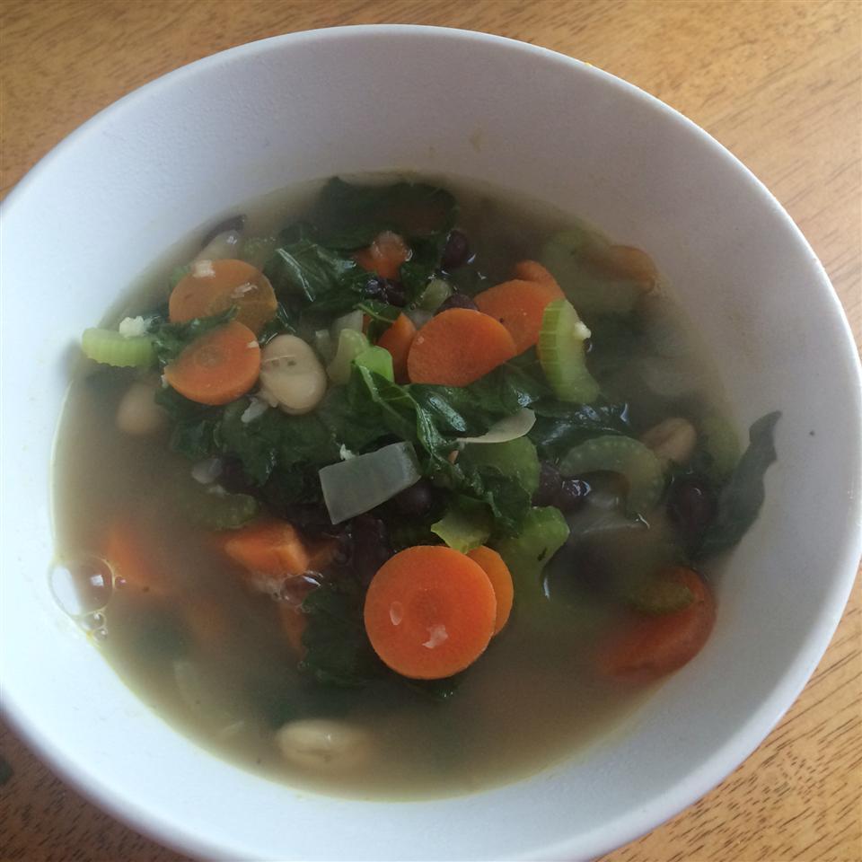 My Trainer's Kale Soup Beau McDowell