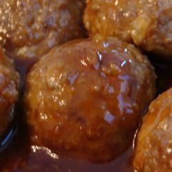 Honey-Garlic Glazed Meatballs ~*Morgan*~
