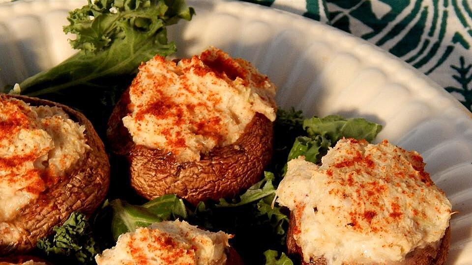 Crab Stuffed Mushrooms III
