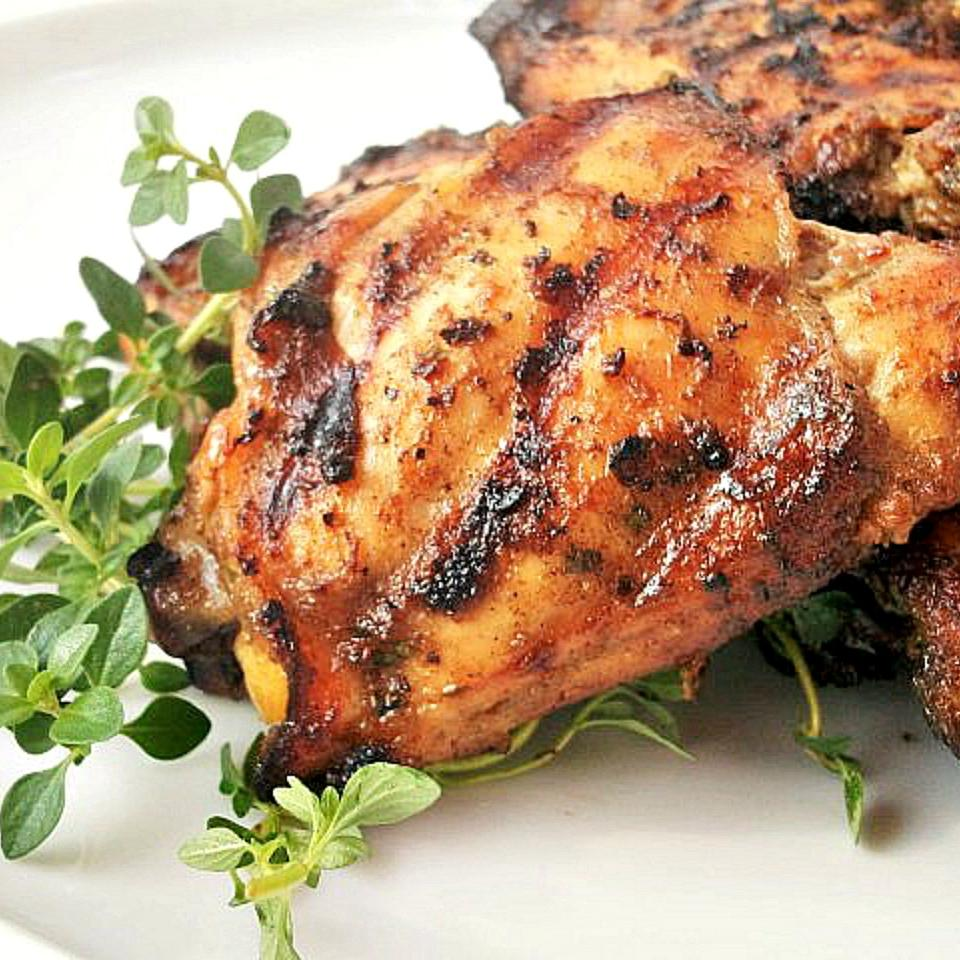 Grilled Chicken with Herbs Robyn Webb