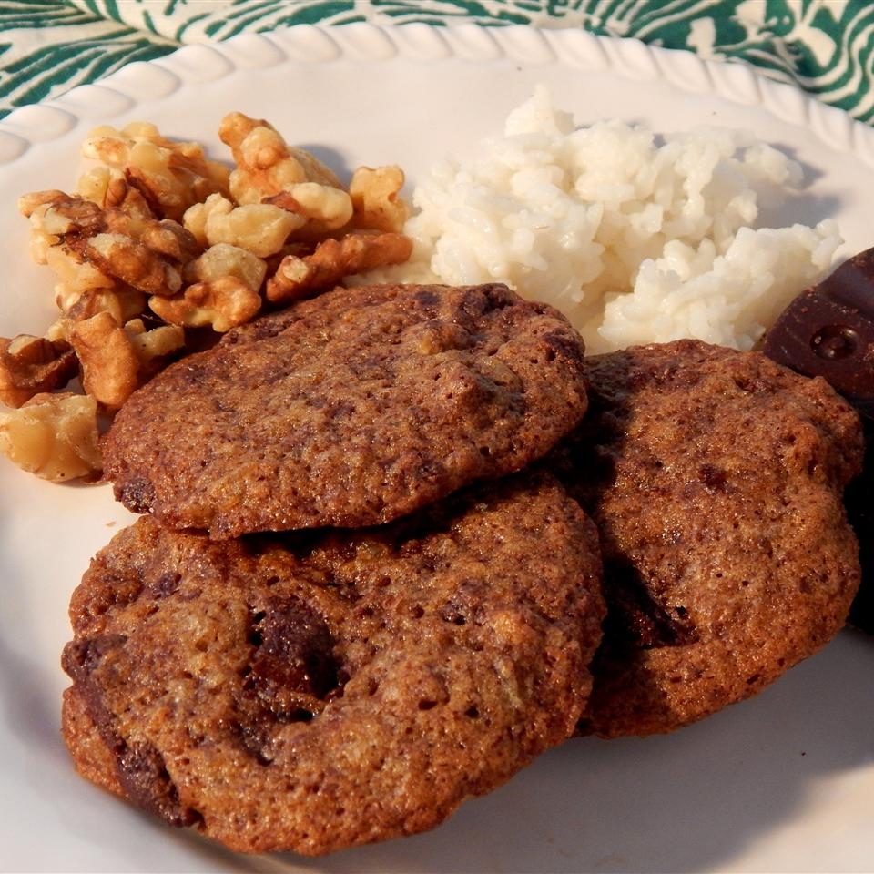 Spiced Rice Cookies with Mexican Chocolate Linda T
