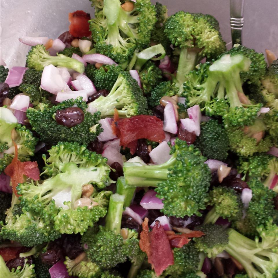 Easy Broccoli Bacon Salad Stephanie Loranzan