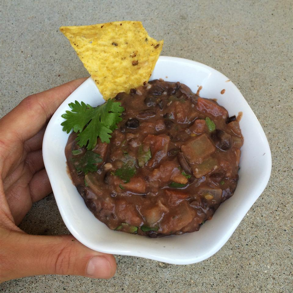 Tex Mex Black Bean Dip