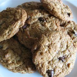 Peanut Butter and Bran Cookies cookies23