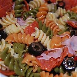 tri color pasta salad recipe