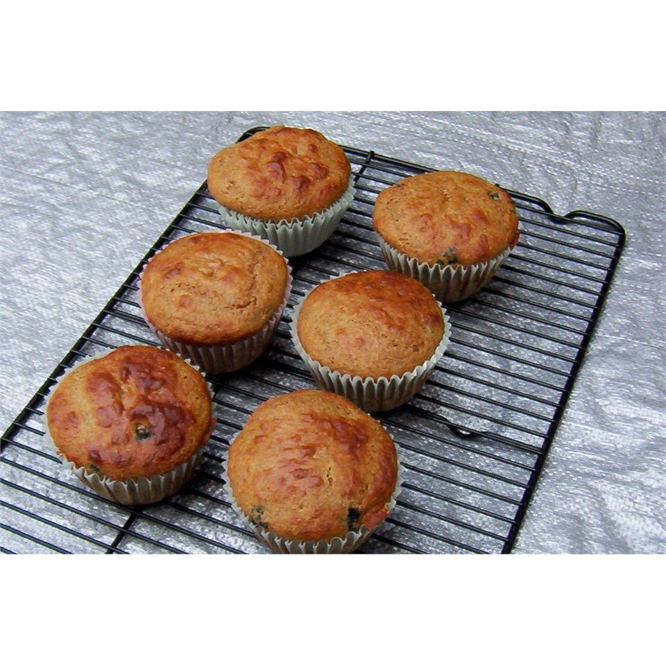 Banana Blueberry Muffins ELEMMIRE