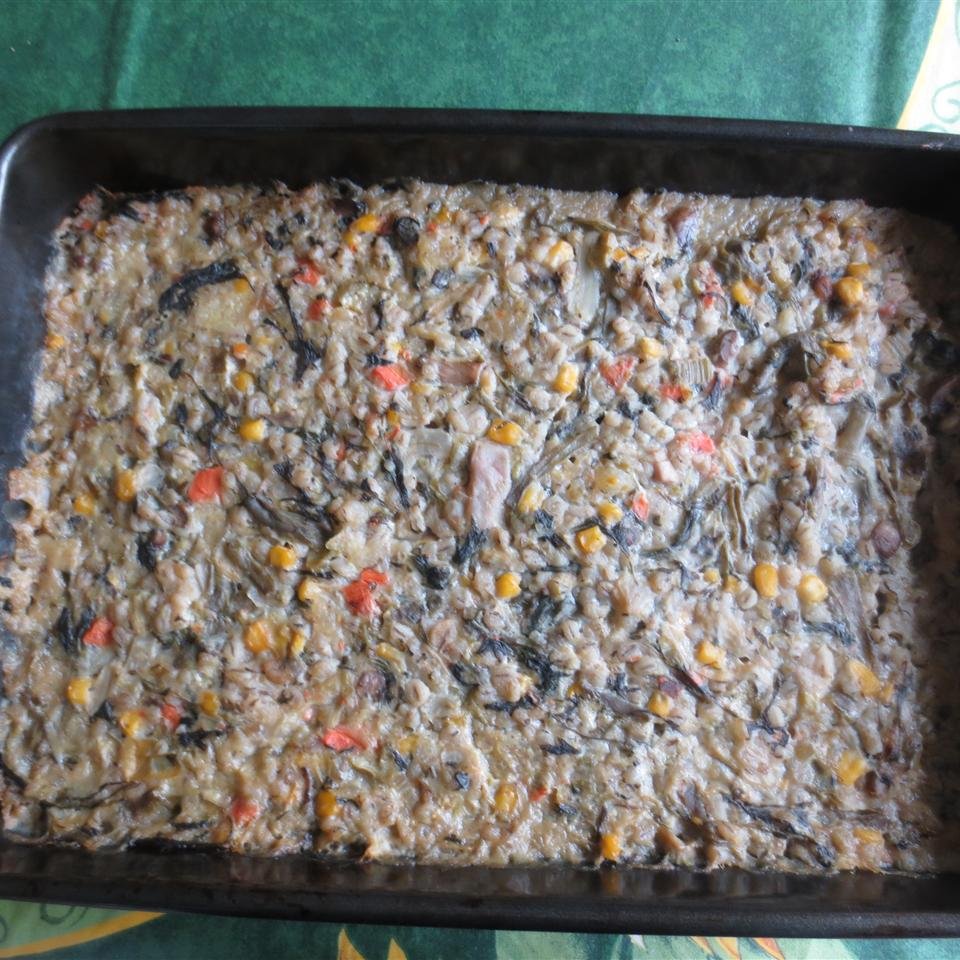Delicious Barley Bake