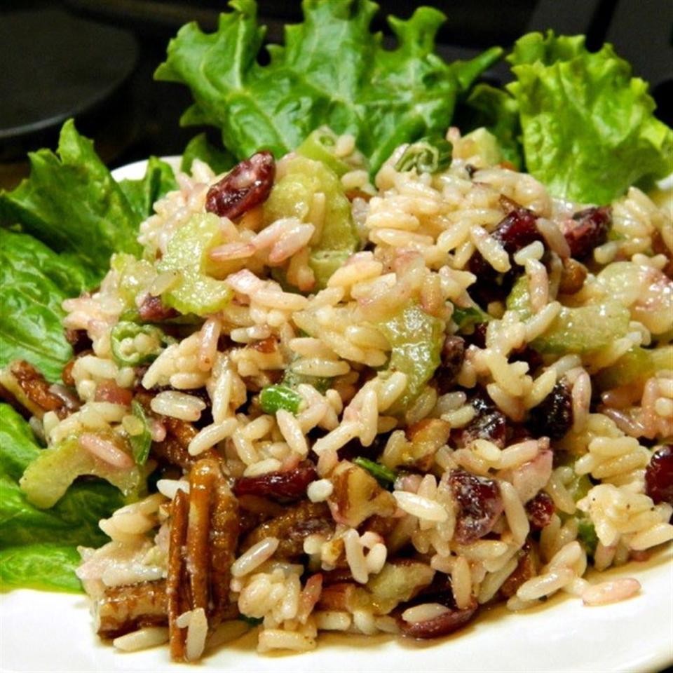 Fruity Rice Salad and Orange Vinaigrette Trusted Brands