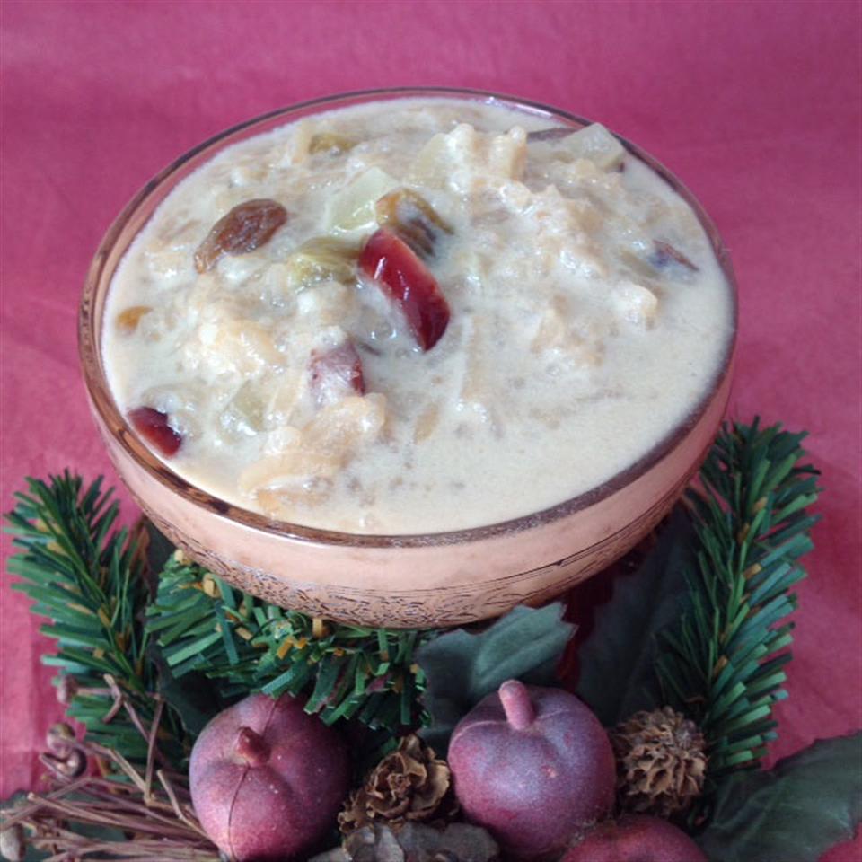 Holiday Rice Pudding