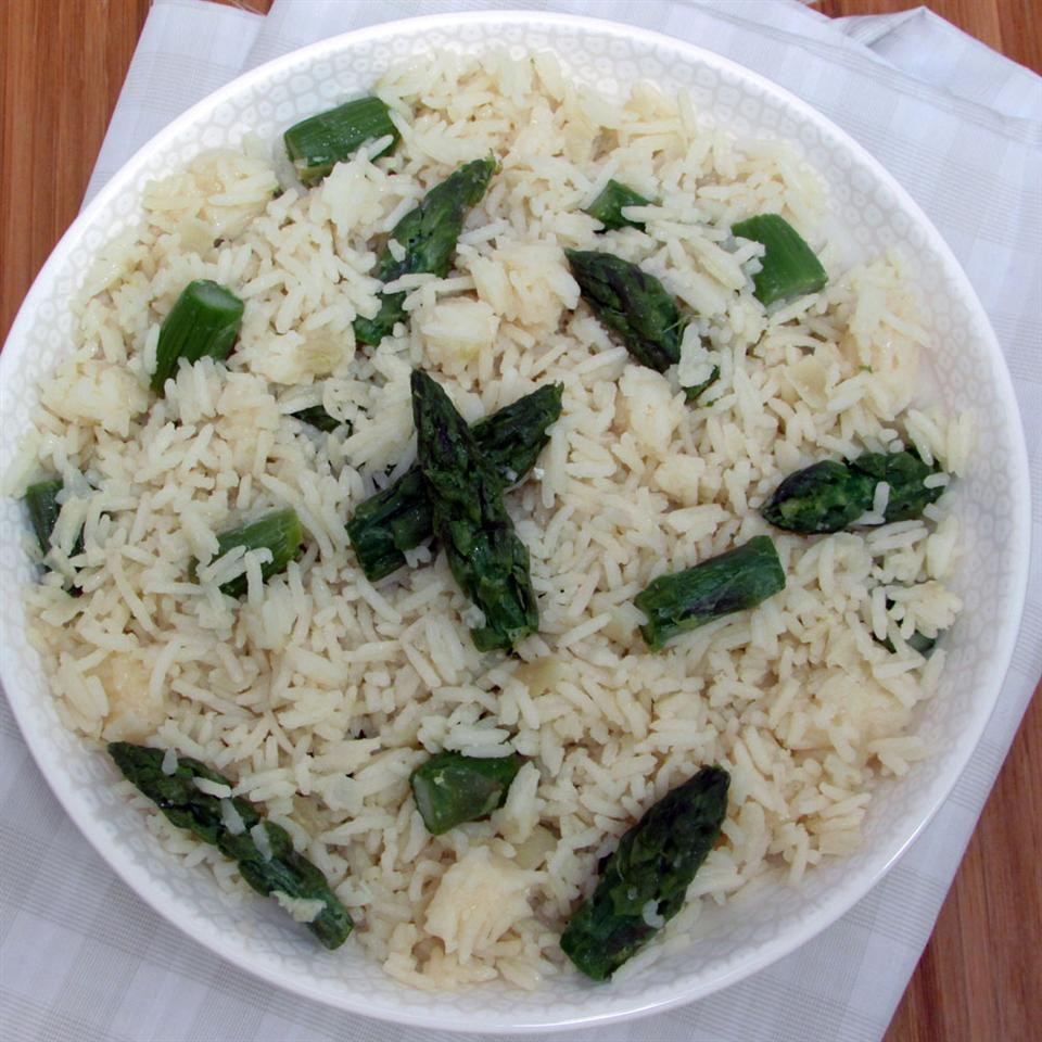 Parmesan Asparagus Rice Allrecipes Trusted Brands