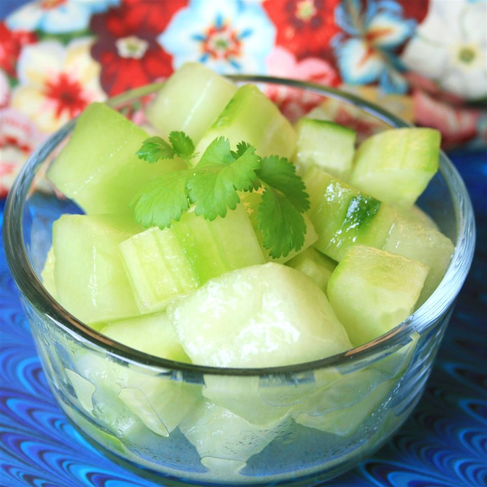 Honeydew and Cucumber Salad France C