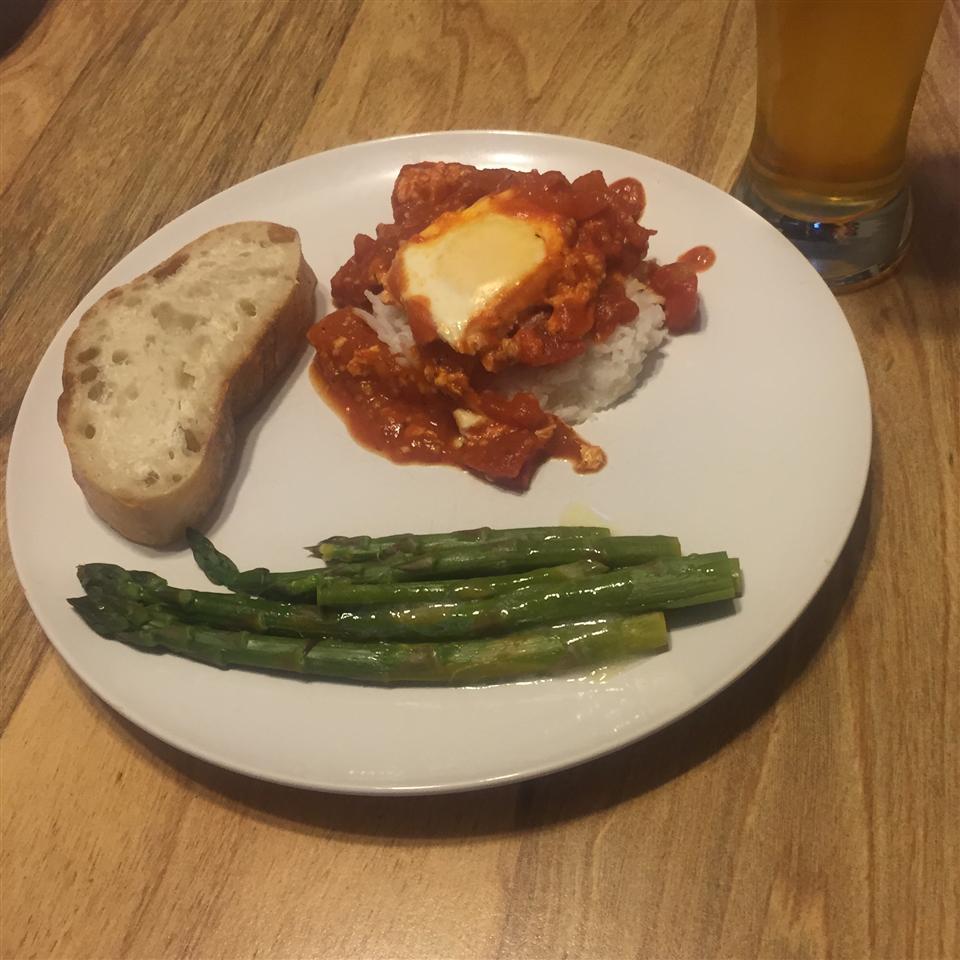 Mamma Rita's Eggs and Tomato Sauce dave
