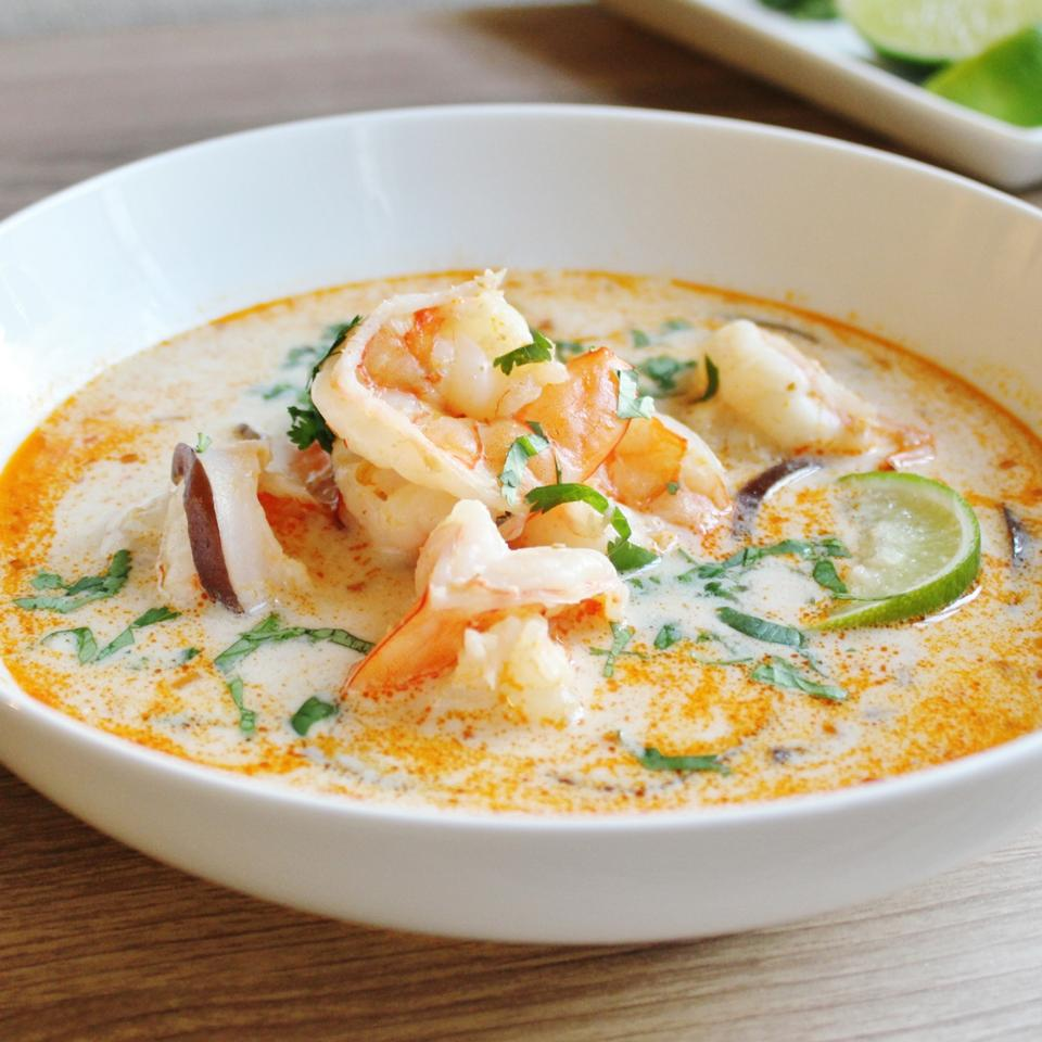 The Best Thai Coconut Soup