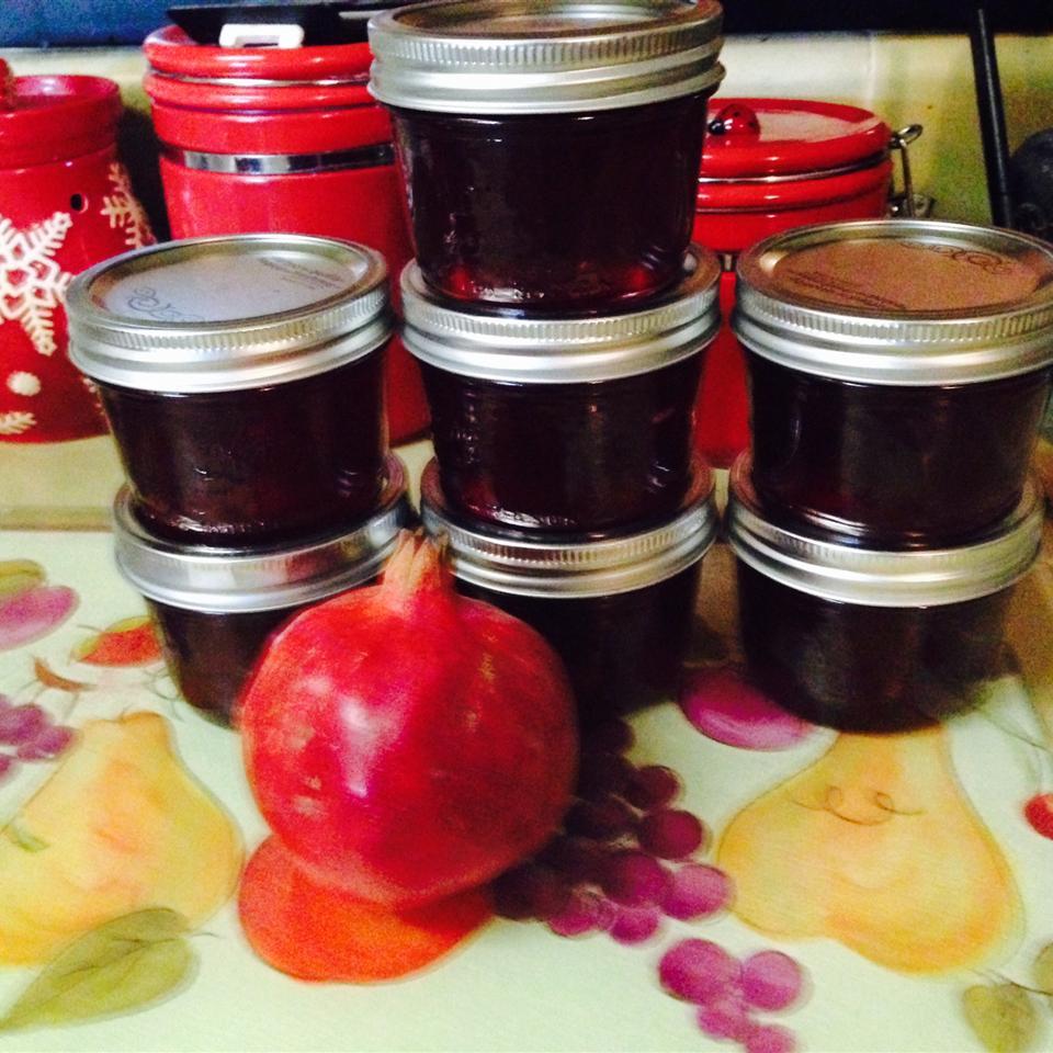 Pomegranate Jelly Larry Wheeler