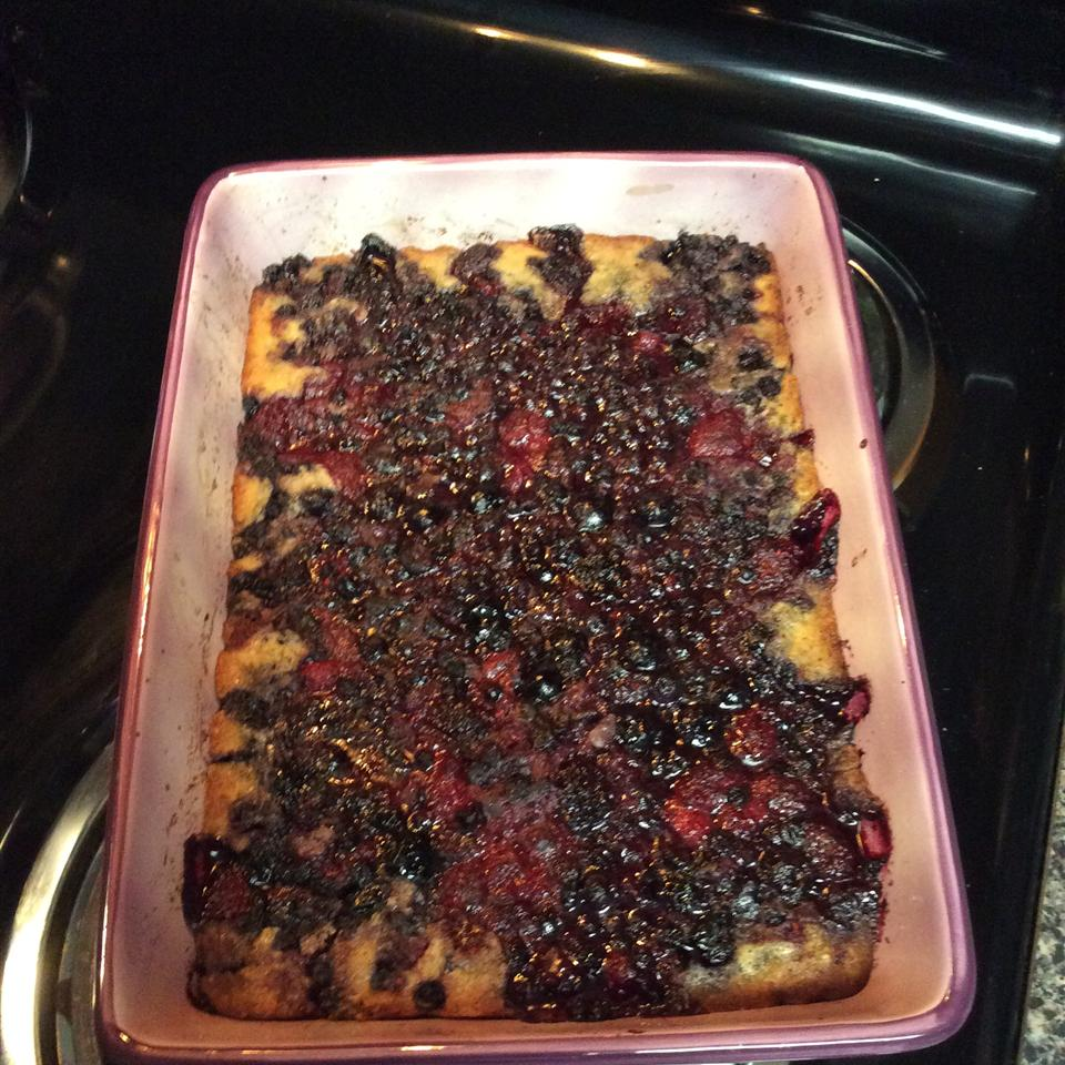 Easy Batter Fruit Cobbler PurplePower84