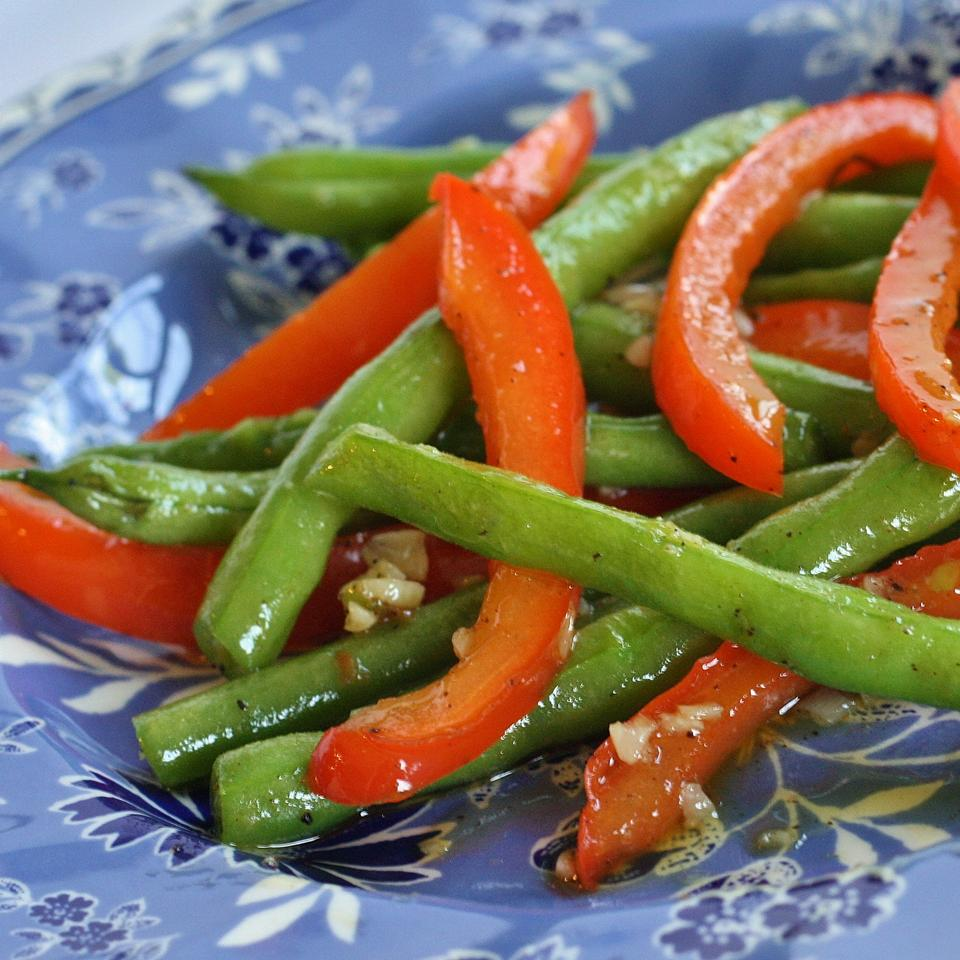 Arica's Green Beans and Feta naples34102
