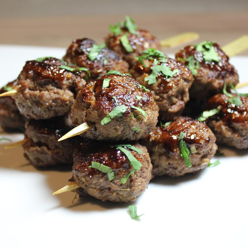 Lemongrass Ground Beef Skewers