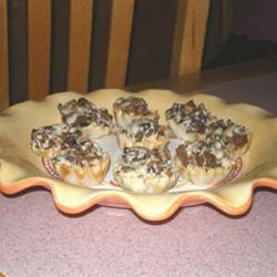 Sausage and Mushroom Tarts Kathy