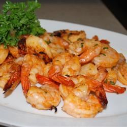 Amazing Spicy Grilled Shrimp Rell