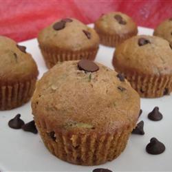 Zucchini-Chocolate Chip Muffins Angela F.