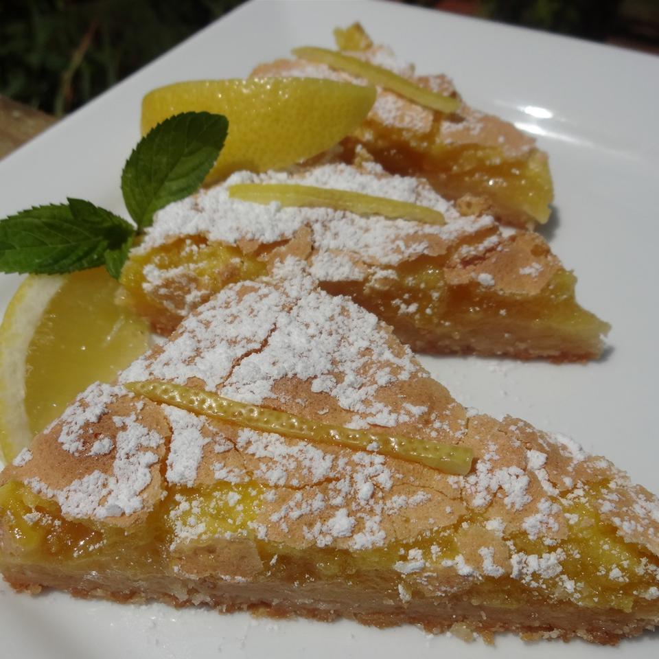 Luscious Lemon Triangles JimmyandNancy Long