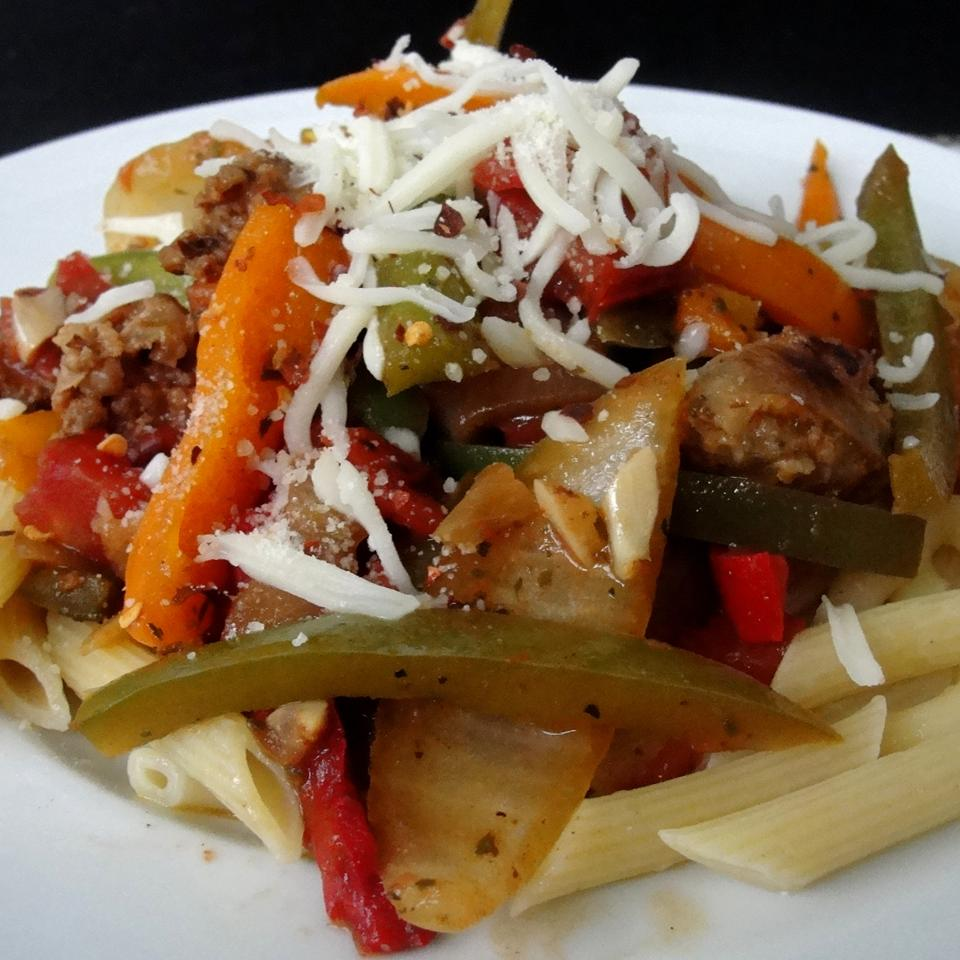 Daddy's Sausage and Peppers