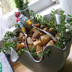 Balsamic Vinegar Potato Salad DASHKAYDOT