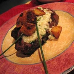 Beef Steaks With Blue Cheese Alida Rovetto