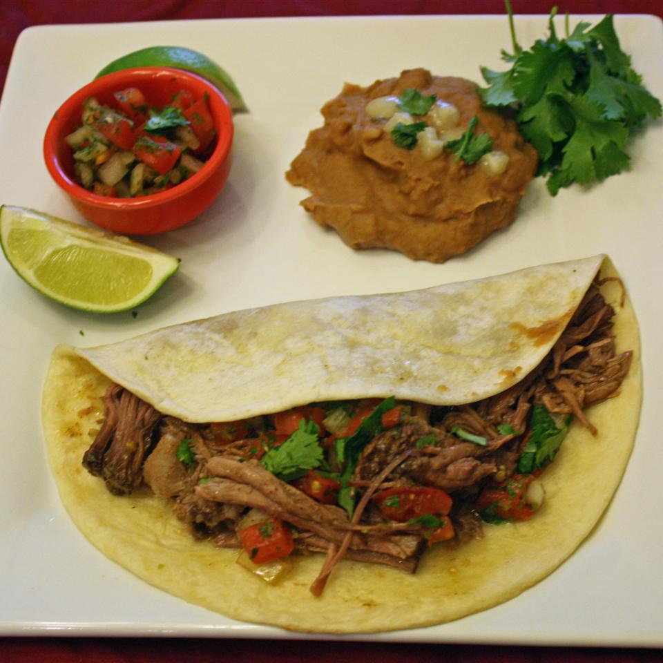 Green Chile Beef Tacos Janet Henderson