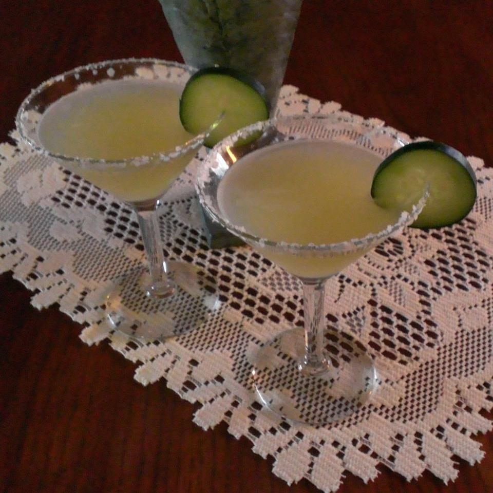 Cucumber Margaritas for a Crowd