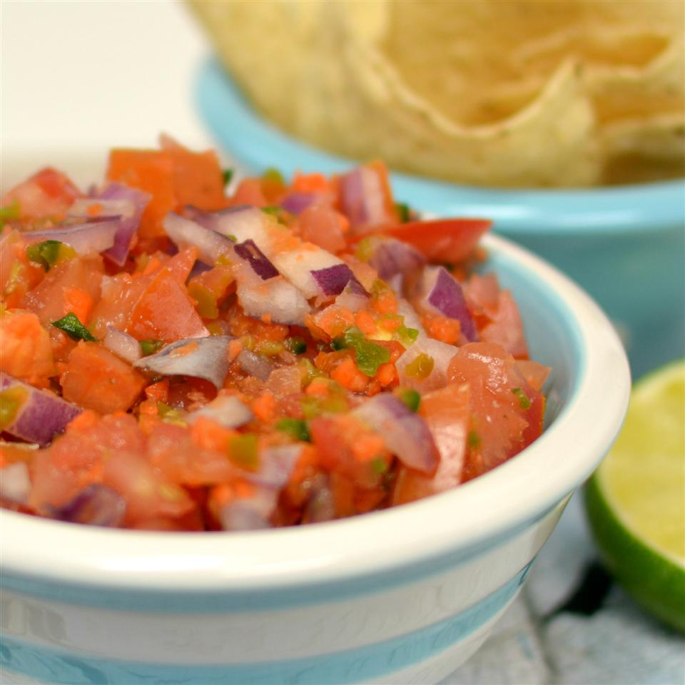 Farm-to-Table Pico de Gallo