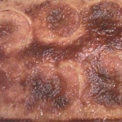 Grandma Sal's Peach Kuchen Lucky Nikki