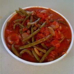 Grecian Green Beans in Tomato Sauce Wendy Allen