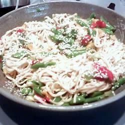 Sesame Udon Noodles oftheaprilbirds