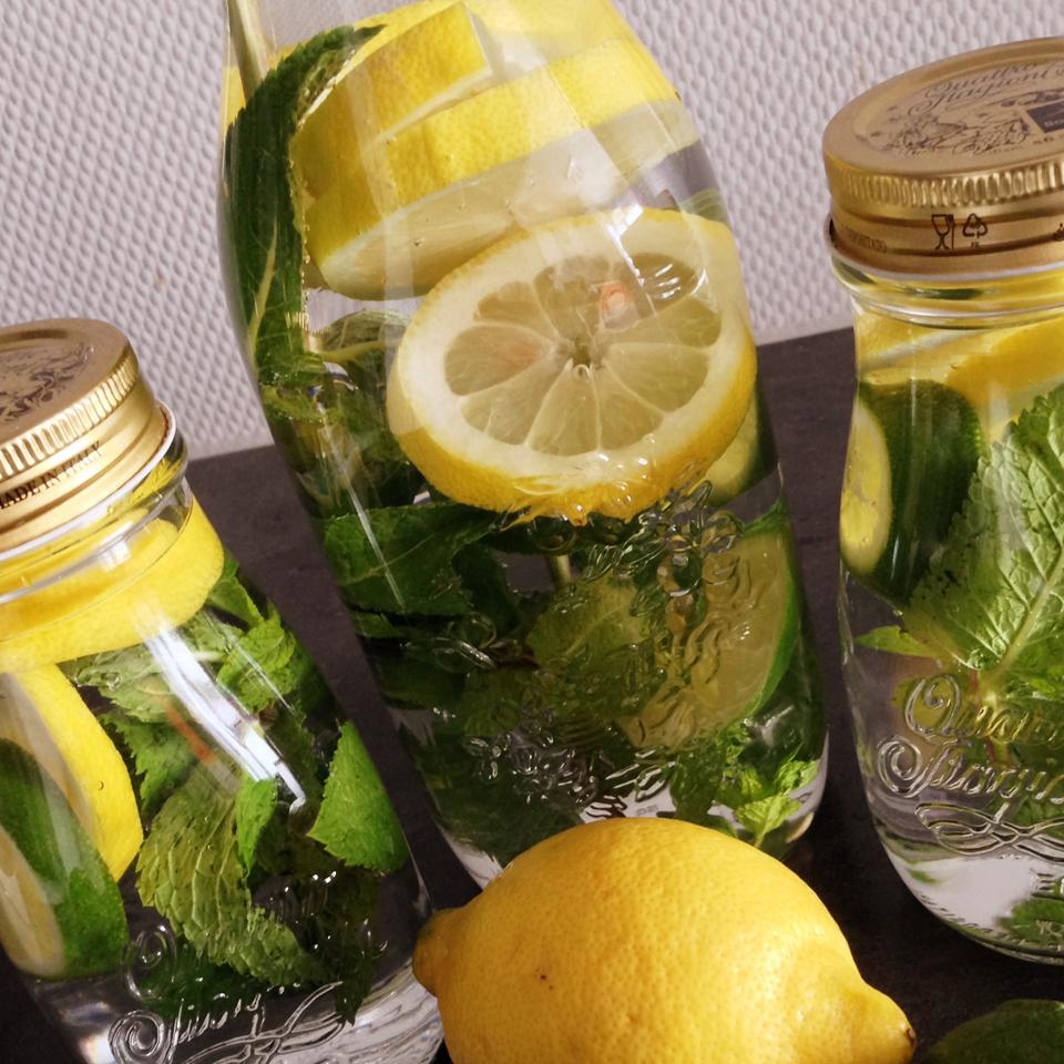 Mint Citrus Water
