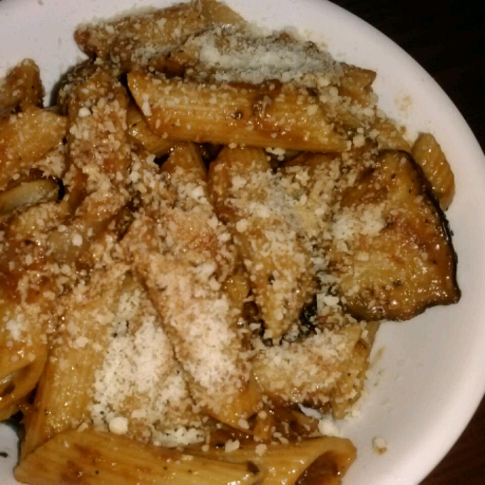 Penne with Eggplant Patricia Hernández