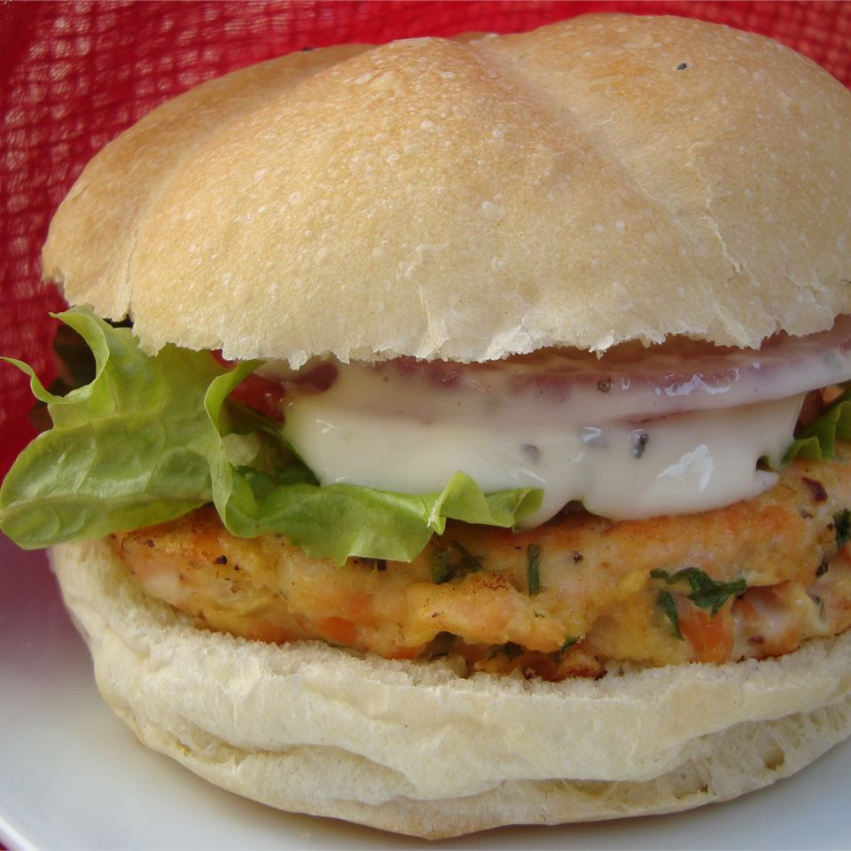 Yummy Lemon Salmon Burgers MELDS