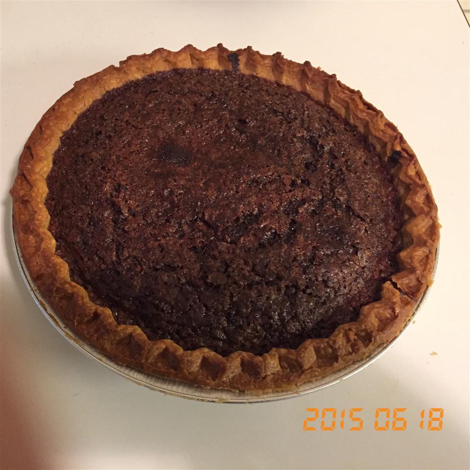Chocolate Chess Pie I