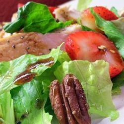 Strawberry Spinach Salad II Traci-in-Cali
