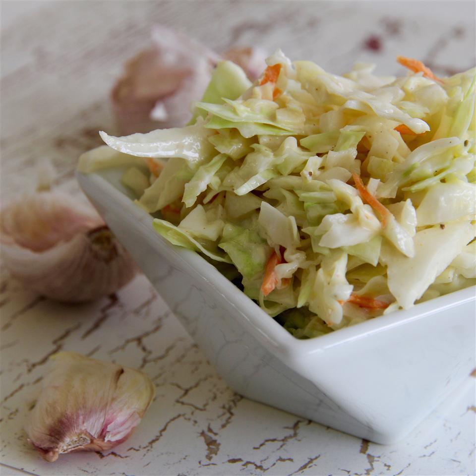 Vincent's Famous Garlic Coleslaw