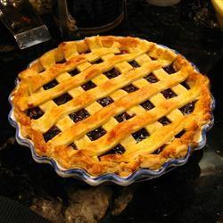 Fresh Blueberry Pie II