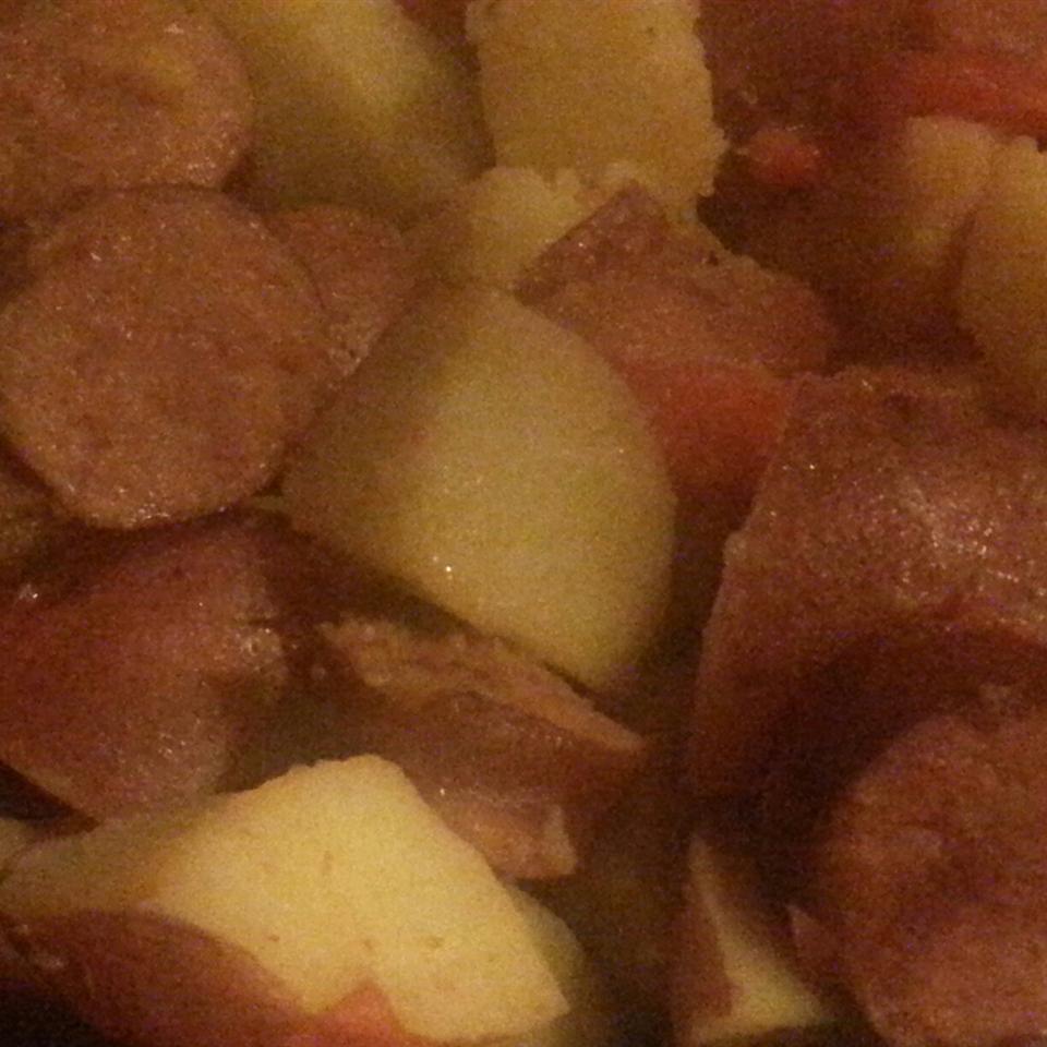 Easy Kielbasa Skillet Dinner